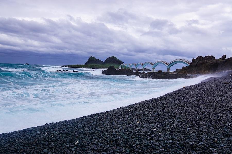 Sanxiantai Beach in Taitung | Taiwan's Last Paradise | #SanxiantaiBeach #TaiwanBeaches
