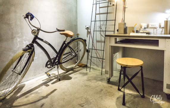 Play Design Hotel Taipei | Craft Room Vibe - handmade bicycle, 3D printer, letter stamps - CHLOESTRAVELOGUE.COM