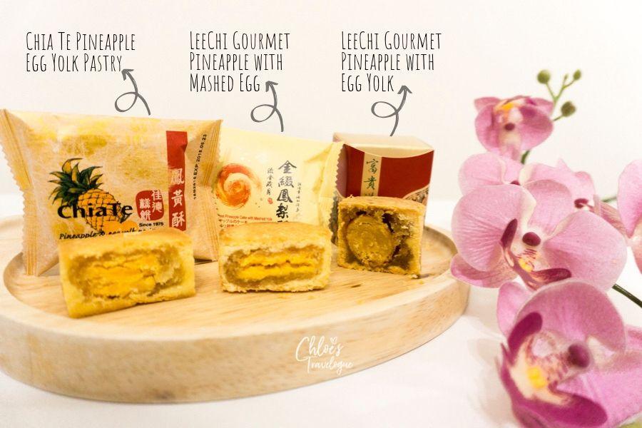 Best Pineapple Cake in Taipei: Chia Te Taipei vs. LeeChi Taipei (Pineapple Cake with Egg Yolk Pastry Comparison) | #Taiwan #PineappleCake #PineappleTart #ChiaTePineappleCake #LeeChiPineappleCake #mustbuysouvenir #whattobuyintaiwan