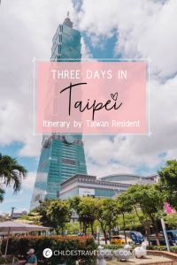 Taipei Itinerary: What to do in Taipei for 3 Days | Planning a trip to the capital city of Taiwan? Experience the best of Taipei in 3 days with this detailed insider's guide. See local restaurant and hot spot suggestions by a Taiwan resident. | #Taipei #Taiwan #TaipeiItinerary #TaipeiThingstoDo #TaipeiTravel