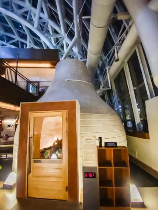 Spa Land Centum City Busan | Korea's Best Luxury Jimjilbang (Korean sauna and spa) - Yellow Ocher Room |#SpaLandBusan #SpaLandCentumCity #CentumCityBusan #luxuryspa #jimjilbang #jjimjilbang #Busan #Korea #ThingsToDoinBusan #BusaninWinter #AsiaTravel #TravelKorea