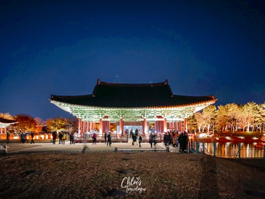 Gyeongju Night City Tour - Donggung Palace and Wolji Pond