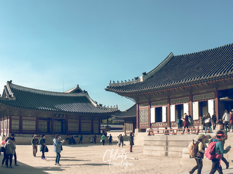 Gyeongbokgung Palace Tour: Gangnyeongjeon is the living quarters for Joseon kings. | #Gangnyeongjeon #Gyeongbokgung #VisitSeoul #TravelKorea