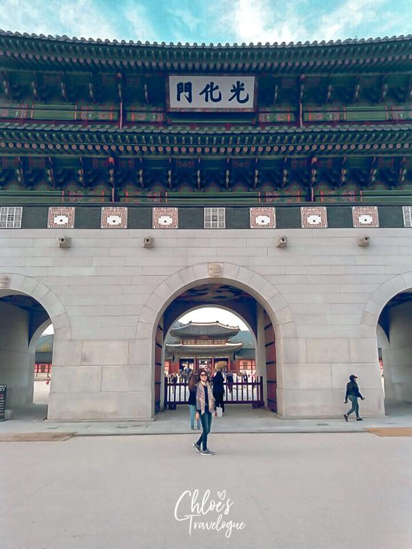 Gyeongbokgung Palace Tour: Gwanghwamun Gate | #GwanghwanumGate #Gyeongbokgung #VisitSeoul #TravelKorea