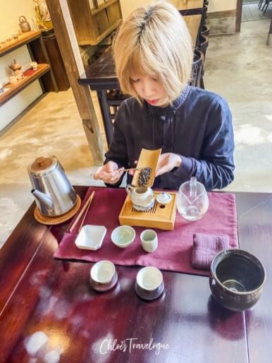 Yongkang Street Teahouse - Qing Tian Tea