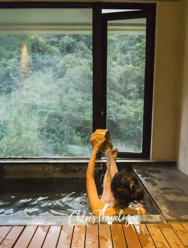 Wulai Hot Spring Resort: Volando Urai Spring Spa & Resort | #WulaiHotSpring #WulaiTaiwan #VolandoUrai #HotSpringsInTaiwan #TravelAsia