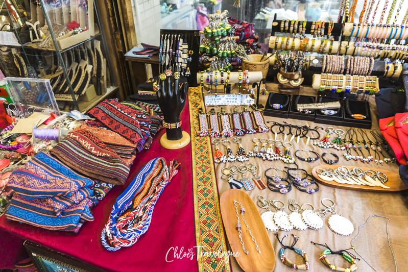 Things to Do in Wulai: Wulai Old Street | #WulaiHotSpring #Cherryblossoms #HotSpringsInTaiwan #thingstodoinWulai #TravelAsia