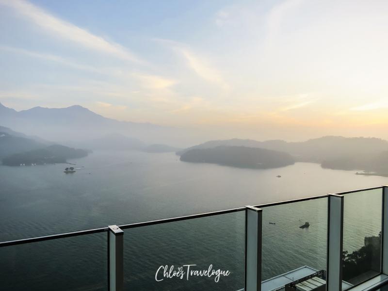 Sun Moon Lake Taiwan | Things to Do + Itinerary | Sun Moon Lake Sunset View at the Wen Wan Resort Sky Deck || #SunMoonLake #TaiwanItinerary #sunset #SunMoonLakeResort #TaichungDayTrip
