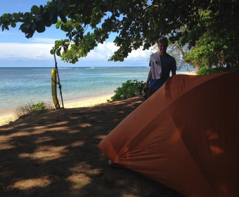 Kauai : camping, canyon, plages (encore!)