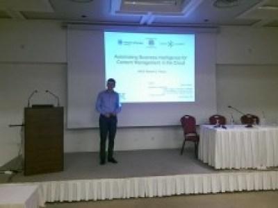 Олексій Руденко (бакалавр ЧДУ, 2012)– захищає магістерську дисертацію за програмою ЄС Tempus Erasmus Mundus