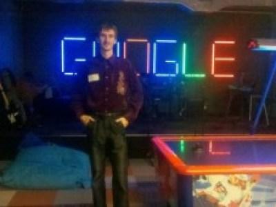 Петро Казмірчук (магістр ЧДУ, 2011) – Software Engineer у компанії ТERMA A/S, Leiden (Netherlands) та на екскурсії в офісі компанії Google в Цюріху (Швейцарія)
