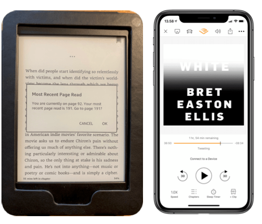 Kindle og Audible