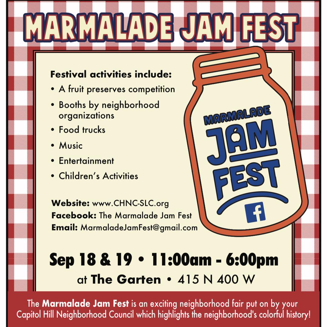"Featured image for ""Marmalade Jam Fest – September 18-19"""