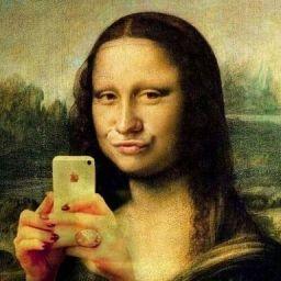 La Mona Lisa Millennial