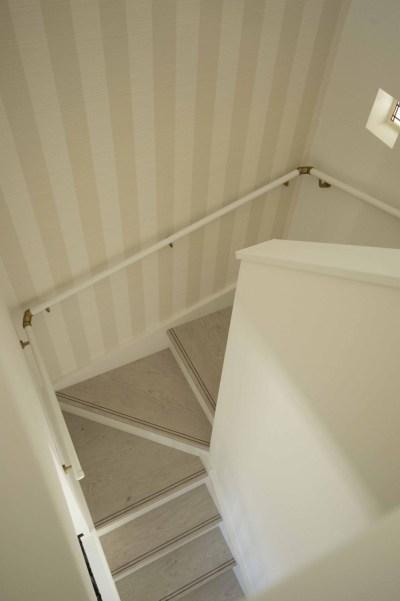 階段のアクセントクロス