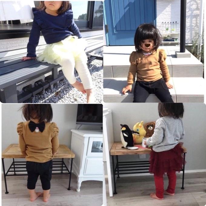 可愛い女の子の子供服