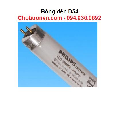 Bóng đèn D54 dùng trong tủ so màu