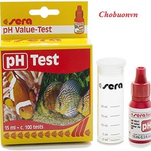 Test pH nước Sera