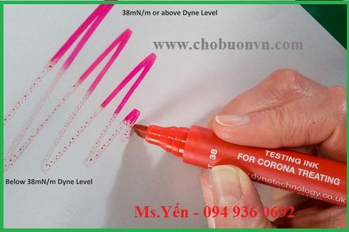 Sử dụng bút thử sức căng bề mặt hãng Biuged