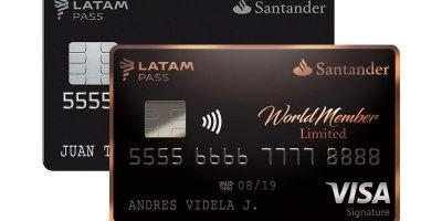 Tarjetas Santander LATAM Pass
