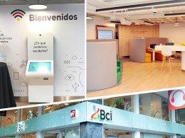 Nuevo formato de sucursal Banco BCI