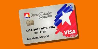 La nueva tarjeta de la Cuenta RUT con Visa Débito.