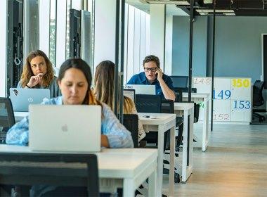El nuevo Centro Nace del Banco Bci en Las Condes