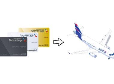 Cómo canjear las millas AAdvantage en LATAM Airlines