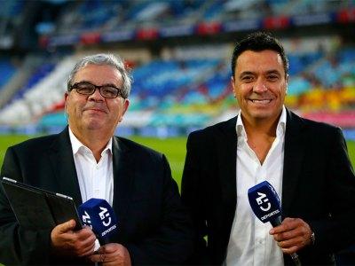 Aldo Schiappacasse y Claudio Palma
