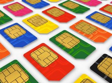 SIM card para celulares