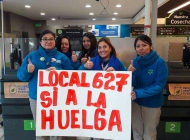 Huelga en Walmart Chile
