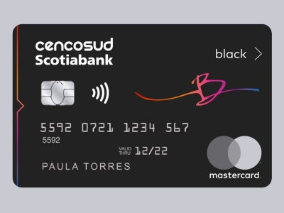 Tarjeta Scotiabank Cencosud Black
