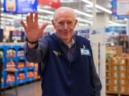 Walmart Greeter en Estados Unidos