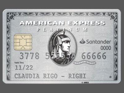 Platinum Card de American Express, Banco Santander Chile