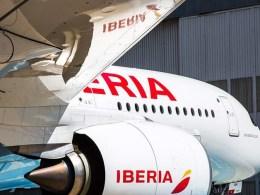 El Airbus A350 de Iberia