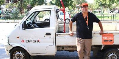 Fex, aplicación de conductor de fletes en Santiago de Chile