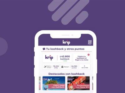 Krip, la aplicación de cashback chilena