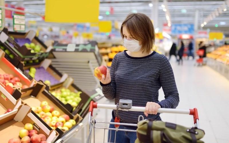 Supermercados en la zona de comunas con cuarentena en Santiago por Coronavirus