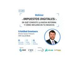 Webinar sobre el impuesto IVA digital en Chile