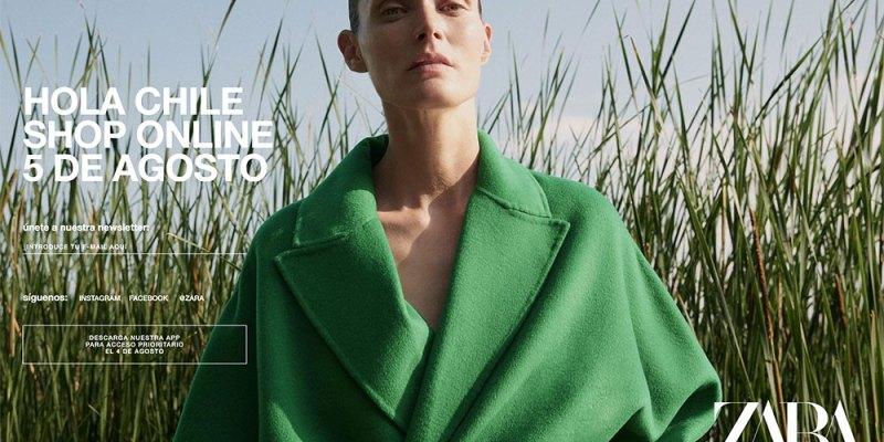 Zara Chile lanzará su tienda online en agosto
