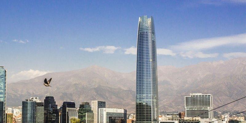 Centro comercial Costanera Center, de Santiago de Chile