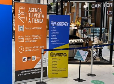 Cómo agendar o reservar hora para los locales de Sodimac Homecenter en Chile
