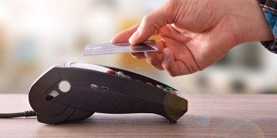 Tarjeta de crédito sin contacto o contact less