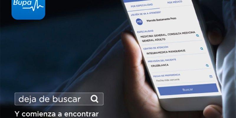 La nueva app Mi Bupa para pacientes de Integramédica y Clínicas Bupa, y afiliados de isapre Cruz Blanca y Seguros Bupa