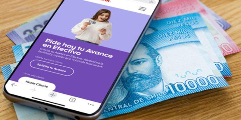 Avance en efectivo y súper avance con tarjeta de crédito