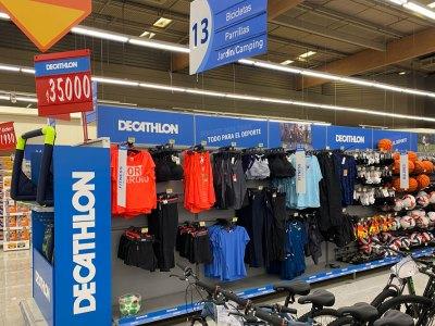Decathlon llegó al supermercado Lider Buenaventura