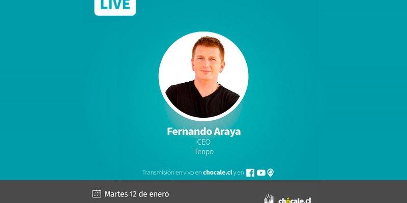 Fernando Araya, CEO de Tenpo