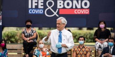 Piñera anunció el IFE y Bono Covid 2021 para comunas en Cuarentena, Transición, Preparación y Apertura Inicial