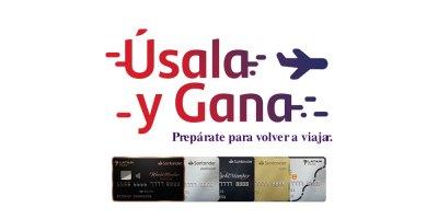 Úsala y gana de las tarjetas de crédito Santander LATAM Pass en marzo y abril de 2021