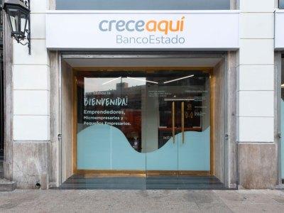 Sucursal Providencia de CreceAquí BancoEstado